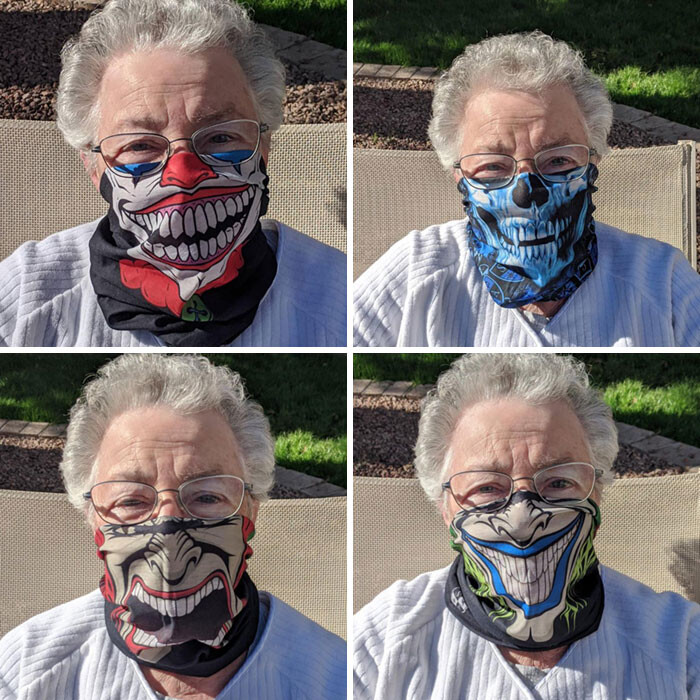 CLUB GIGGLE funny-masks21 Top 34 Hilariously Creative Ways People Are Protecting Themselves That Are Questionable...