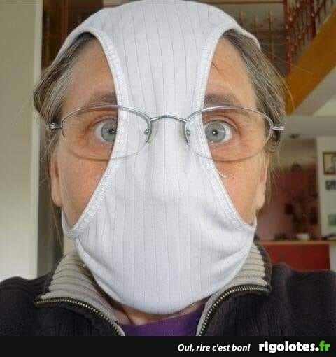 CLUB GIGGLE funny-masks55 Top 34 Hilariously Creative Ways People Are Protecting Themselves That Are Questionable...