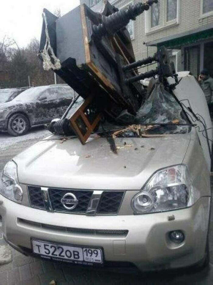 CLUB GIGGLE funny523 35 Times The Universe Showed  It Hates Car Owners...