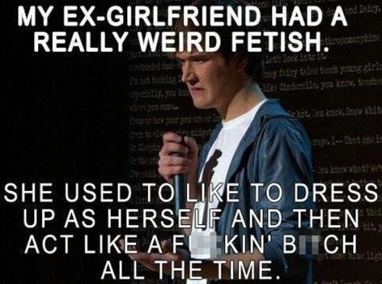 CLUB GIGGLE my-ex-girlfriend-memes-5707525904 Breakups are like a good dump... soul cleansing 32 Breakups Memes