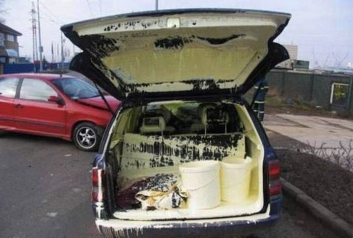 CLUB GIGGLE paint-car 52 People Who Are Having a Worst Day Than You...