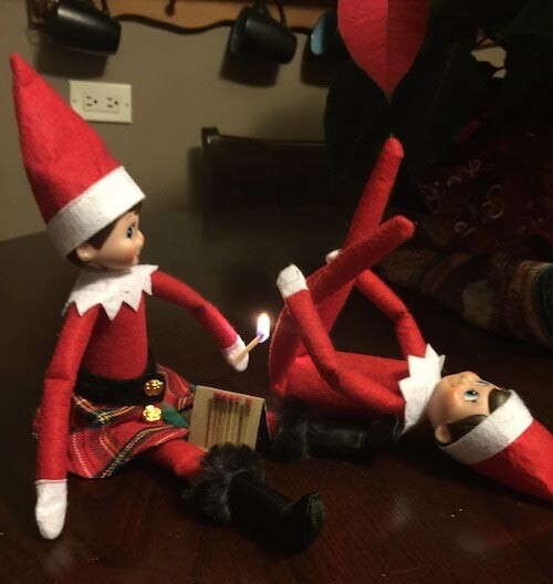 CLUB GIGGLE 01 Top 15 Funny and Inappropriate Elf on Shelf Memes