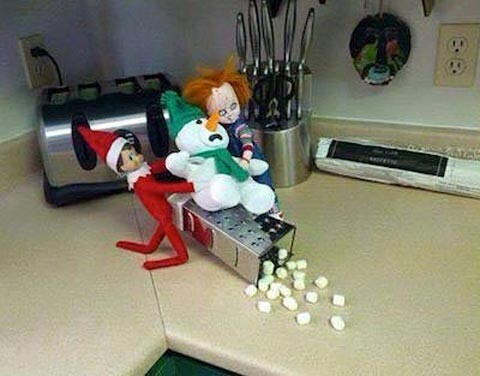 CLUB GIGGLE 12 Top 15 Funny and Inappropriate Elf on Shelf Memes