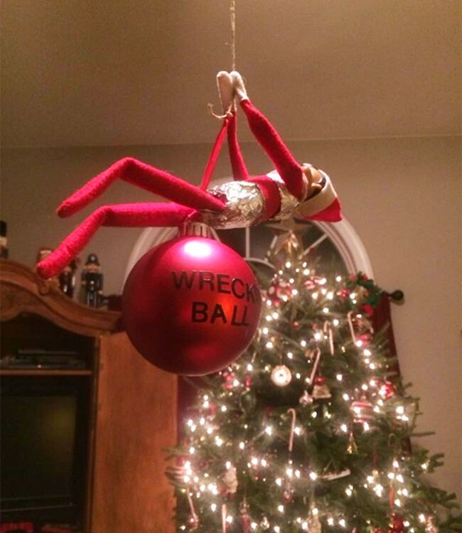 CLUB GIGGLE 32 Top 15 Funny and Inappropriate Elf on Shelf Memes