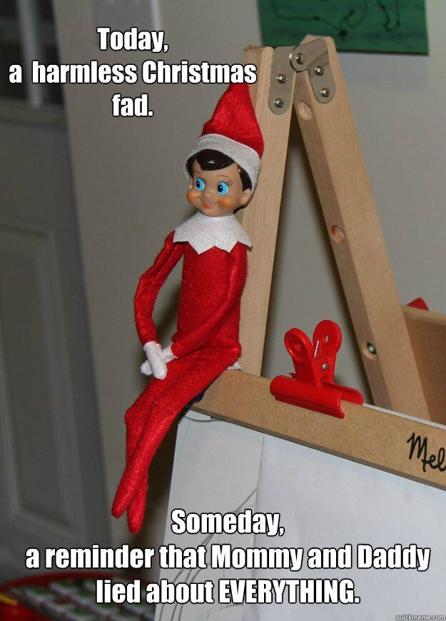CLUB GIGGLE 67 Top 15 Funny and Inappropriate Elf on Shelf Memes