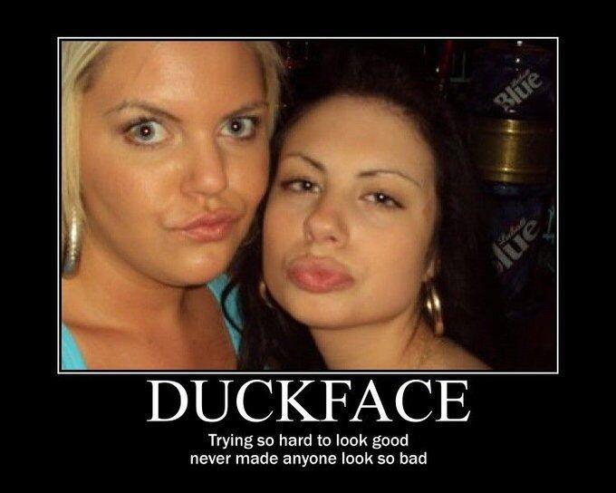 CLUB GIGGLE duckface5 20 Best Duck Face Memes