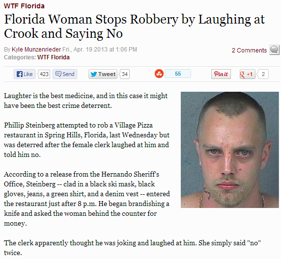 CLUB GIGGLE florida-man12 FLORIDA MAN IN HEADLINES 25 TIMES AGAIN.. RUNNING AMOK AS ONLY HE CAN.......