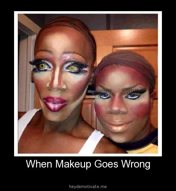 CLUB GIGGLE hilarious-makeup-fails3 30 Hilarious Makeup Fails...