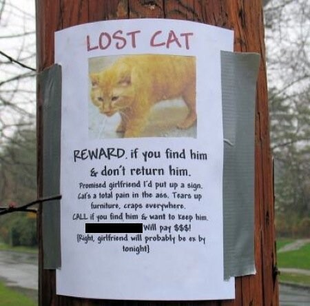 CLUB GIGGLE lost-and-found1 25 Hilarious Lost And Found Signs