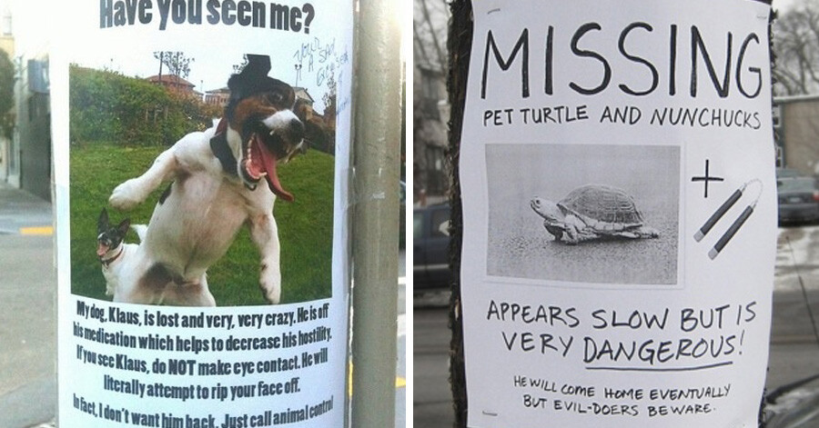 CLUB GIGGLE lost-and-found14 25 Hilarious Lost And Found Signs