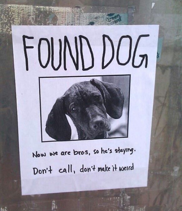 CLUB GIGGLE lost-and-found4 25 Hilarious Lost And Found Signs