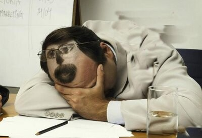 CLUB GIGGLE man-funny-sleeping-on-work The Difference Between Vax And Anti Vax People.......