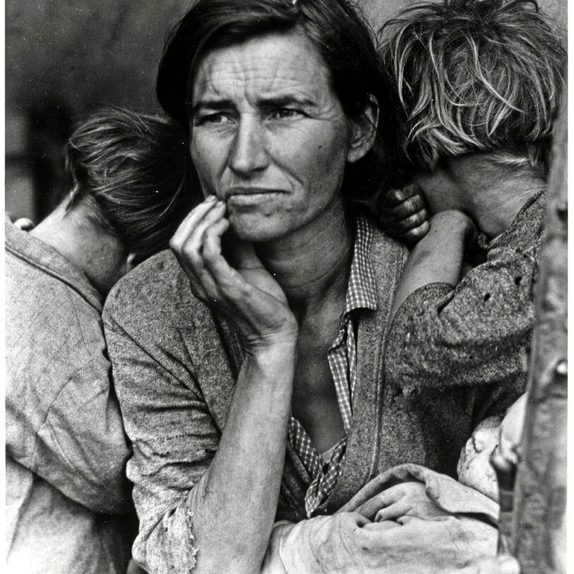 CLUB GIGGLE 121111 27 Haunting Photos Of  America  During The Great Depression