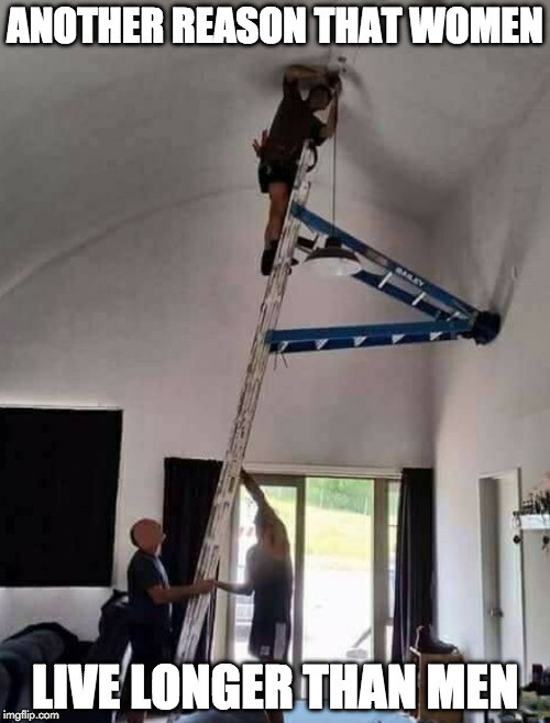 CLUB GIGGLE 25avhy 50 Reasons Why Women Live longer Then Men