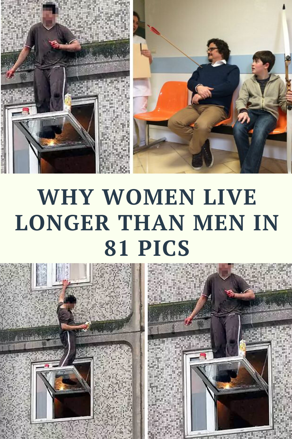 CLUB GIGGLE 63ec06dcefe1254c5e24e30cfcbde2a9 50 Reasons Why Women Live longer Then Men