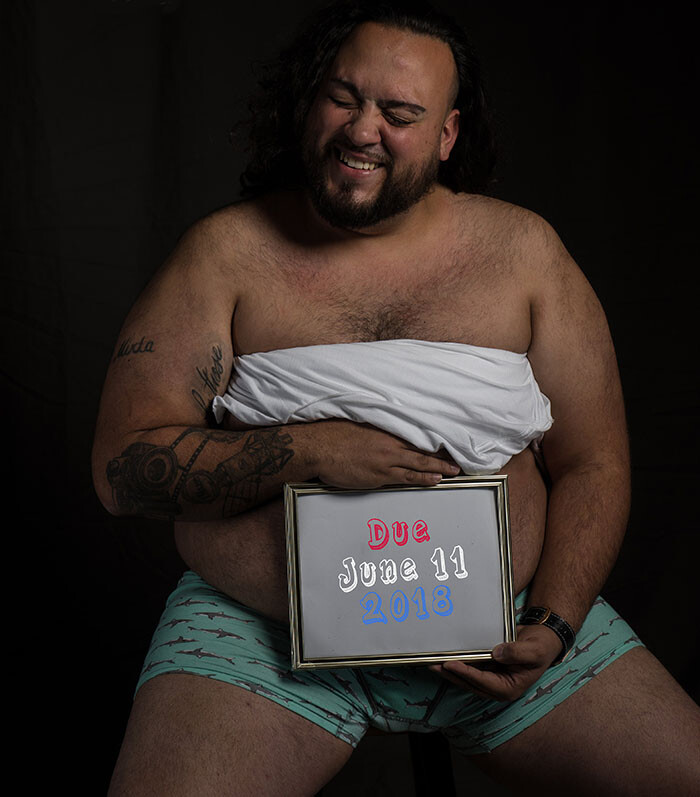 CLUB GIGGLE funny-men12 15 Beer Belly Maternity Photos...