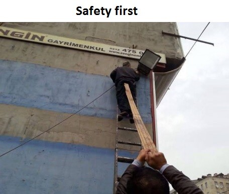 CLUB GIGGLE funny-safety-first-men 50 Reasons Why Women Live longer Then Men