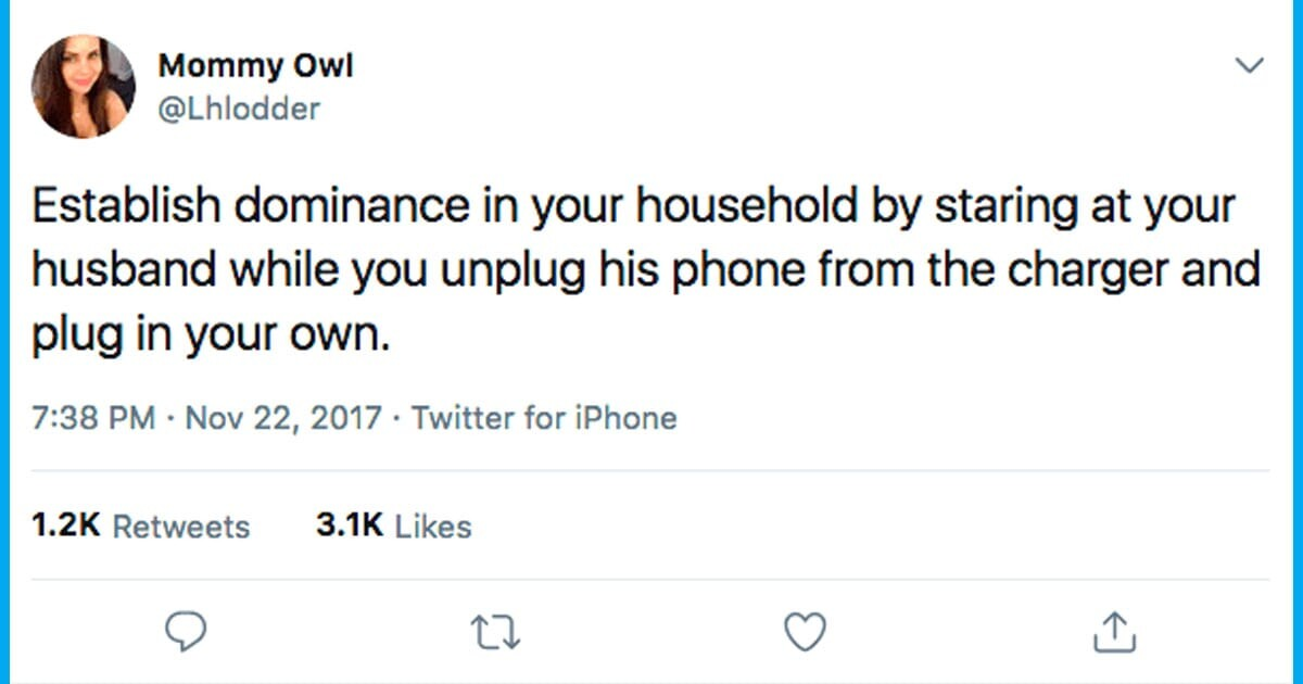 CLUB GIGGLE funny-tweets144 Top 45 Hilarious Marriage Tweets