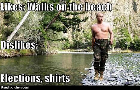 CLUB GIGGLE putin-meme 35 Reasons why we love Russia..