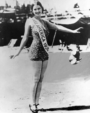 CLUB GIGGLE unnamed Miss America 1921 To 1940..  See How Times Have Changed.