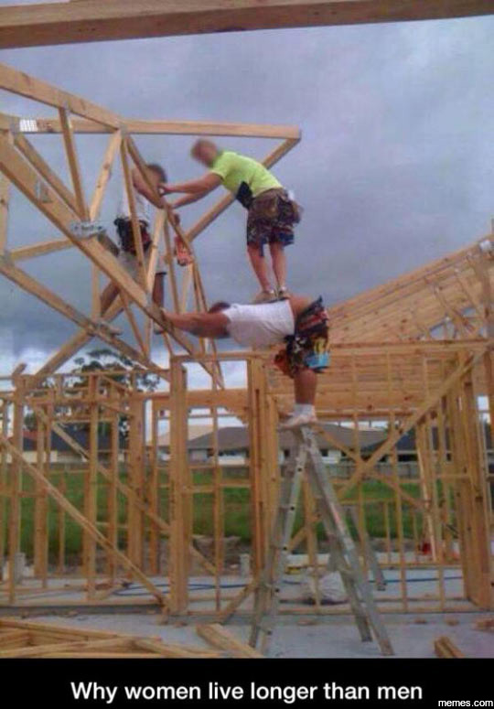 CLUB GIGGLE zILMXIW 50 Reasons Why Women Live longer Then Men