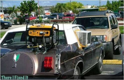 CLUB GIGGLE redneck-car-hacks22 Top 25 Redneck Car Repairs When You Are On A Budget....
