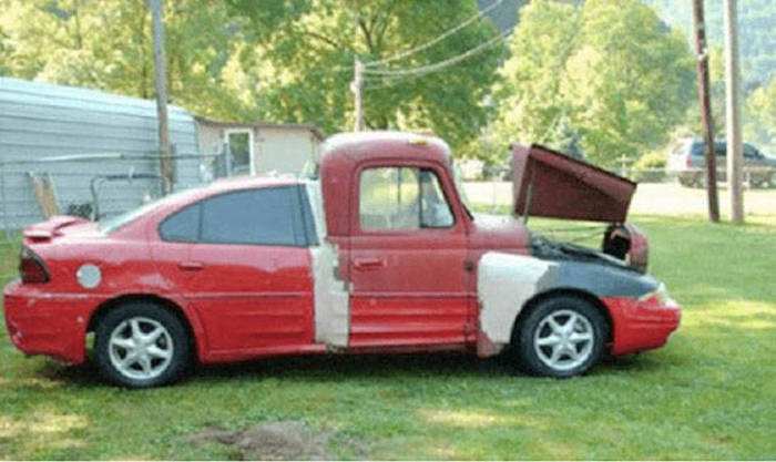 CLUB GIGGLE redneck-car-hacks27 Top 25 Redneck Car Repairs When You Are On A Budget....