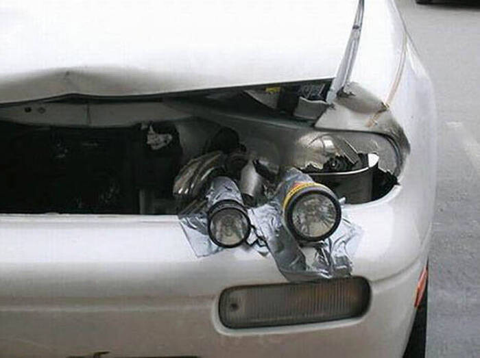 CLUB GIGGLE redneck-car-hacks35 Top 25 Redneck Car Repairs When You Are On A Budget....