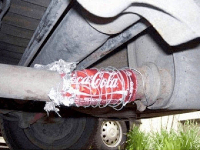 CLUB GIGGLE redneck-car-hacks412 Top 25 Redneck Car Repairs When You Are On A Budget....