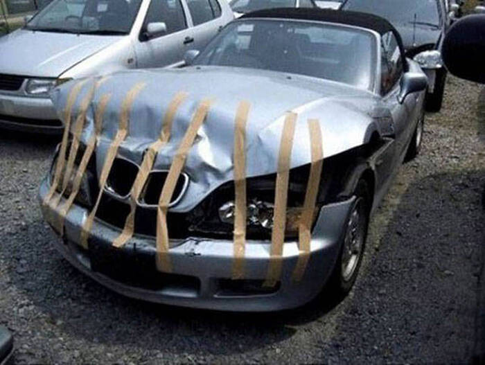 CLUB GIGGLE redneck-car-hacks66 Top 25 Redneck Car Repairs When You Are On A Budget....