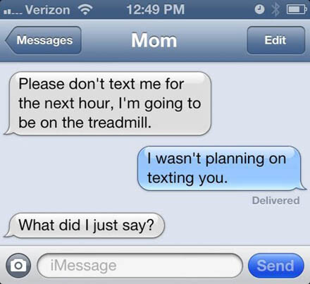 CLUB GIGGLE 4 18 Funniest Texts Between Parents and Their Kids....