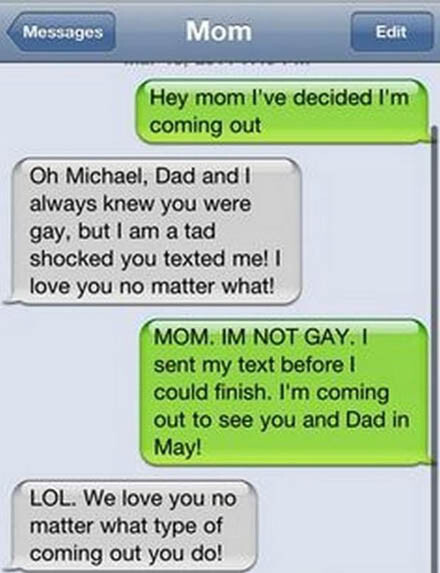 CLUB GIGGLE 9 18 Funniest Texts Between Parents and Their Kids....