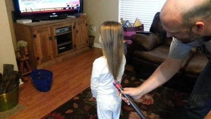 CLUB GIGGLE funny-babies14 When Dads turn to babysit 25 Photos