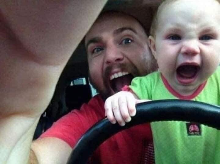 CLUB GIGGLE funny-babies16 When Dads turn to babysit 25 Photos