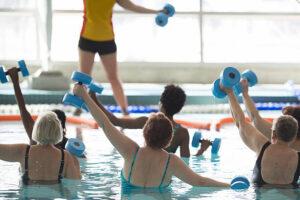 CLUB GIGGLE Aqua-Aerobics-300x200 Top Ten Hobbies for Women 55 and Older