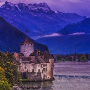 CLUB GIGGLE Chateau-De-Chilon-Switzerland-300x300 Most Beautiful Castles Around The World