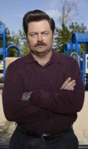 CLUB GIGGLE Ron-Swanson-179x300 Top 10 Funniest TV Characters