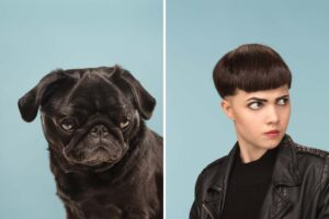 CLUB GIGGLE leather-girl-300x200 Pets Who Are Identical To Their Owners