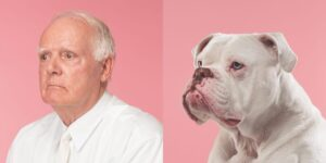 CLUB GIGGLE man-and-dog-white-hair-300x150 Pets Who Are Identical To Their Owners