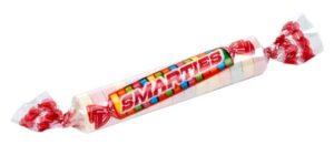 CLUB GIGGLE smarties-300x131 Top Ten Nasty Halloween Candies