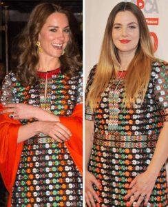 CLUB GIGGLE Kate-Middleton-and-Drew-Barrymore-244x300 Club Giggle Game: Who is the Fashionista?