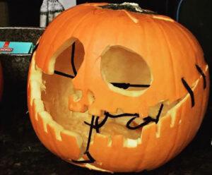 CLUB GIGGLE pumpkin-stitching.jpg-64723-300x248 Fail: Pumpkin Carving Edition