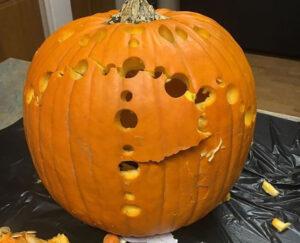 CLUB GIGGLE swiss-cheese-pumpkin.jpg-38901-300x243 Fail: Pumpkin Carving Edition